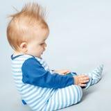 Pequeño bebé hermoso Fotos de archivo libres de regalías