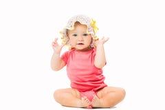 Pequeño bebé lindo Fotos de archivo libres de regalías