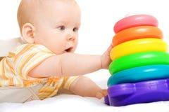 Pequeño bebé lindo Fotos de archivo
