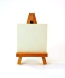 Pequeño caballete de madera Fotografía de archivo