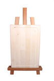 Pequeño caballete de madera Fotografía de archivo libre de regalías
