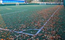 Pequeño campo de fútbol fotos de archivo libres de regalías
