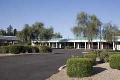 Pequeño centro de negocios Fotografía de archivo