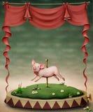 Pequeño cerdo ilustración del vector