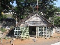 Pequeño Christian Church en Madurai, la India imagen de archivo