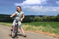 Pequeño ciclista Fotos de archivo libres de regalías