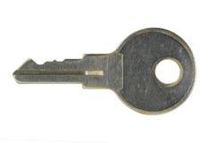 Pequeño clave aislado en blanco Foto de archivo