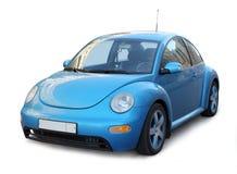Pequeño coche azul Fotos de archivo