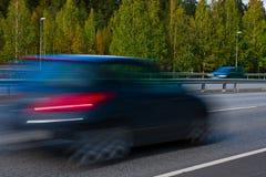 pequeño coche moderno rápido foto de archivo libre de regalías