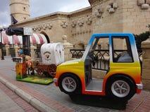 Pequeño coche para los niños Fotografía de archivo