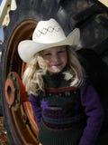 Pequeño cowgirl Fotografía de archivo libre de regalías
