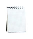 Pequeño cuaderno espiral Fotos de archivo libres de regalías