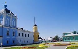 Pequeño cuadrado colorido, Colomna, Rusia Foto de archivo