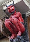 Pequeño diablo en Stonegate en York Fotos de archivo libres de regalías