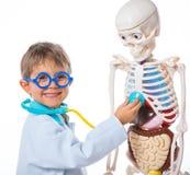Pequeño doctor. Imagenes de archivo