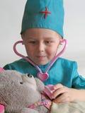 Pequeño doctor Imagen de archivo libre de regalías