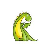 Pequeño dragón lindo Fotos de archivo