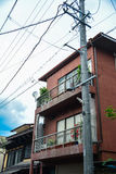 Pequeño edificio japonés Imagen de archivo
