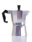 Pequeño fabricante del café express foto de archivo libre de regalías