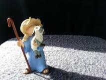 Pequeño fondo de Boy del pastor Imagen de archivo libre de regalías