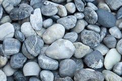 Pequeño fondo de piedra redondo Foto de archivo libre de regalías