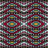 Pequeño fondo geométrico brillante de los círculos coloreados stock de ilustración