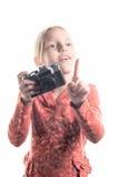 Pequeño fotógrafo Imagen de archivo libre de regalías