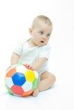 Pequeño futbolista Imagen de archivo
