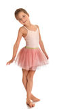 Pequeño gimnasta lindo Foto de archivo