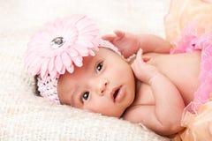 Pequeño gitl del bebé Fotografía de archivo libre de regalías