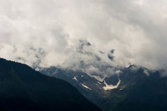Pequeño glaciar Imagenes de archivo