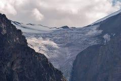 Pequeño glaciar de AKTRU Siberia - Altai foto de archivo
