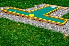 Pequeño golf 18 imagen de archivo