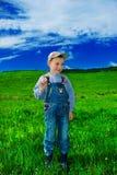 Pequeño granjero Foto de archivo libre de regalías