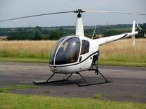 Pequeño helicóptero imagenes de archivo