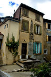 Pequeño hogar en Francia meridional Fotografía de archivo