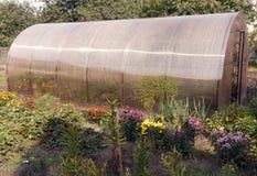 Pequeño invernadero privado Fotografía de archivo