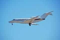 Pequeño jet de carta privado Fotografía de archivo