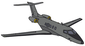 Pequeño jet oscuro libre illustration