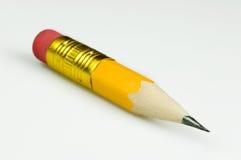 Pequeño lápiz amarillo fotos de archivo libres de regalías