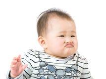 Pequeño labio del monedero del bebé Fotografía de archivo