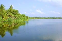 Pequeño lago Fotografía de archivo libre de regalías