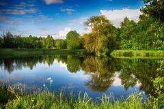 Pequeño lago Foto de archivo libre de regalías