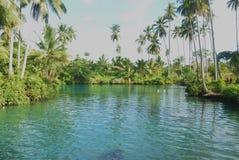 Pequeño lago foto de archivo