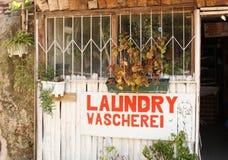 Pequeño lavadero Fotografía de archivo libre de regalías
