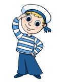 Pequeño marinero Foto de archivo libre de regalías
