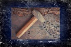 Pequeño martillo de trineo Imagen de archivo libre de regalías