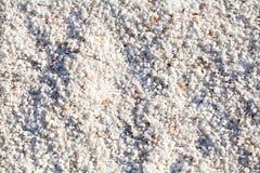 Pequeño modelo blanco de las piedras Fotografía de archivo
