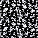 Pequeño modelo de flores 014 stock de ilustración