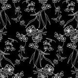 Pequeño modelo de flores 092 ilustración del vector